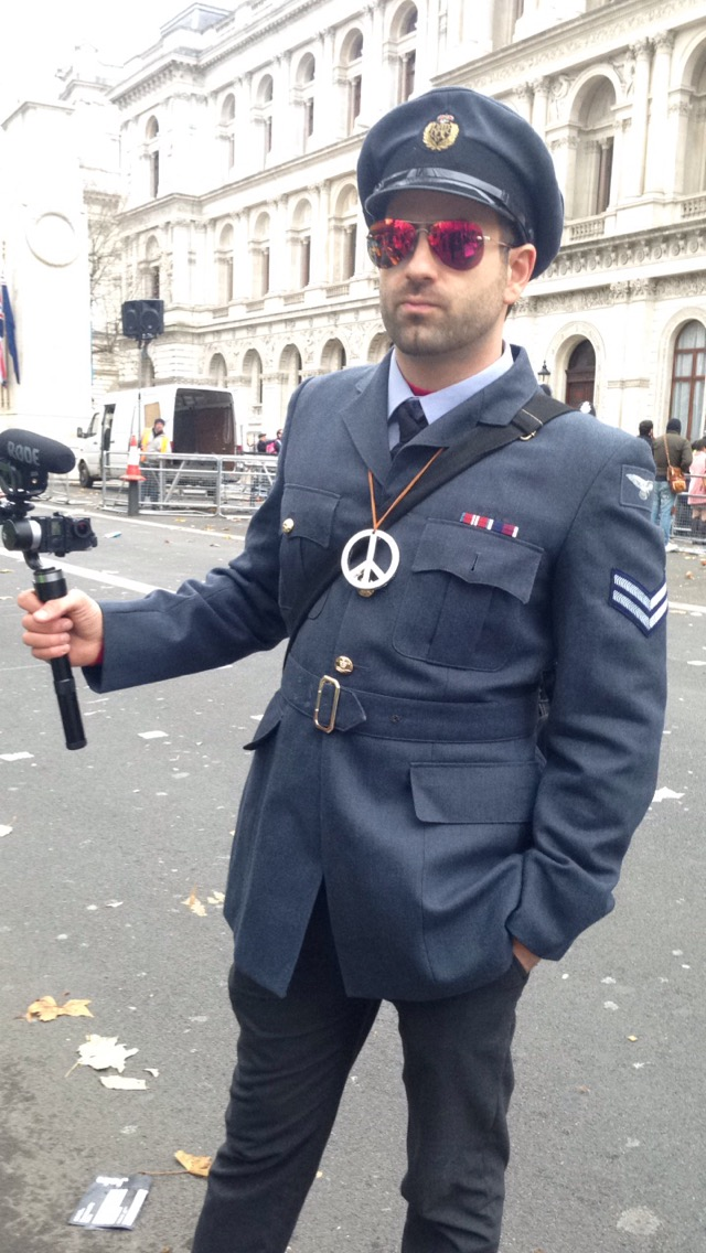 Why Bombing Syria will come back to haunt us, we visited the Protest.